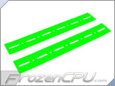 FrozenCPU.com HDD Noise Isolation Strips - UV Green