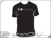 FrozenCPU.com Original Tower Chassis T-shirt - Black - ( Size - Large)