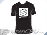 FrozenCPU.com Original Liquid Inside T-shirt - Black - (Size - Large)
