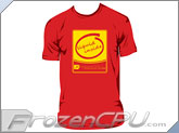 FrozenCPU.com Original Liquid Inside T-shirt - Red - (Size X-Large)