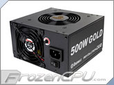 Enermax Revolution DUO 500W DUO Flow 80+ Gold Certified Power Supply(ERD500AWL-F)