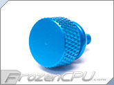 Bitspower 6-32 Thread Anodized Thumbscrew - Blue (BP-ATSC632-BL)