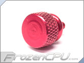 Bitspower 6-32 Thread Anodized Thumbscrew - Red (BP-ATSC632-RD)