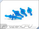 Rubber Anti-Vibration Screw 4-Pack for Open Chassis Fans - UV Blue (RS-OC-UVB)