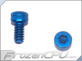 "6-32 x 1/4"" Socket Head Screws - Aluminum Anodized Blue 4-Pack"