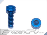 "6-32 x 3/8"" Socket Head Screws - Aluminum Anodized Blue 4-Pack"