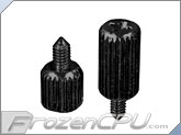 Lian Li Motherboard Thumb Screw Kit - Black - 12 Pack (TS-02B)