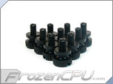 Mod/Smart Poly Thumbscrews - 6-32 Thread - 10 Pack - Black (TSN-BK)
