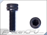 "8-32 x 1/2"" Socket Head Screws - Aluminum Anodized Black 4-Pack"