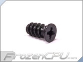 FrozenCPU Extended Fan Screw - 10mm Long - Black (Standard)