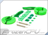 Mod/Smart Supreme Kobra System Sleeving Kit - UV Green (SKIT2S-UVG)