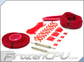 "Mod/Smart Supreme Kobra System Sleeving Kit - UV Red (SKIT2S-UVR) - ""The <i>REAL</i> Red"""