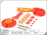 Mod/Smart Supreme Kobra System Sleeving Kit - UV Orange (SKIT2S-UVO)
