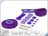 Mod/Smart Supreme Kobra Sleeving Kit - UV Purple (SKIT2S-UVP)