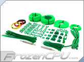 Mod/Smart Professional Kobra System Sleeving Kit - UV Green (SKIT2P-UVG)