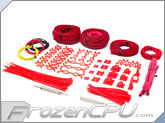 Mod/Smart Professional Kobra System Sleeving Kit - UV Red (SKIT2P-UVR)