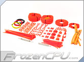 Mod/Smart Professional Kobra System Sleeving Kit - UV Orange (SKIT2P-UVO)