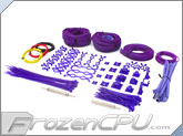 Mod/Smart Professional Kobra System Sleeving Kit - UV Purple (SKIT2P-UVP)