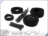 Mod/Smart Basic Kobra System Sleeving Kit - Black (SKIT2-BK)