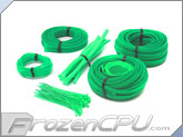 Mod/Smart Basic Kobra System Sleeving Kit - UV Green (SKIT2-UG)