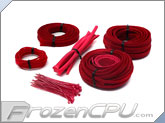 Mod/Smart Basic Kobra System Sleeving Kit - UV Red (SKIT2-UR)