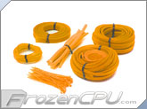 Mod/Smart Basic Kobra System Sleeving Kit - UV Brite Orange (SKIT2-BO)