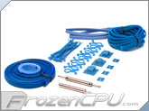 Mod/Smart Supreme Kobra System Sleeving Kit - Aqua Blue (SKIT2S-Q)