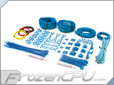 Mod/Smart Professional Kobra System Sleeving Kit - Aqua Blue (SKIT2P-Q)