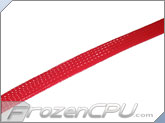 "FLEXO PET 1/2"" Nylon Cable Sleeve - Red"