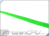 "Mod/Smart Kobra High Density Cable Sleeving 1"" - UV Green"