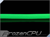 "Bitspower Super Tight Weave 1/2"" Cable Sleeve Deluxe - Green"