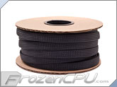 "Mod/Smart Kobra High Density Cable Sleeving 1/2"" - Black - 50 Foot Mini Spool (SPOOL12-BK)"