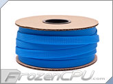 "Mod/Smart Kobra High Density Cable Sleeving 1/2"" - Aqua Blue - 50 Foot Mini Spool (SPOOL12-AQ)"
