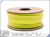 "Mod/Smart Kobra High Density Cable Sleeving 1/2"" - UV Yellow - 50 Foot Mini Spool (SPOOL12-UY)"