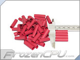 "Mod/Smart Perfect Cut Heatshrink 1/4"" x 25mm - 50 Pack - Red (HS-1/4-R-25mm)"