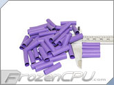 "Mod/Smart Perfect Cut Heatshrink 1/4"" x 25mm - 50 Pack - Purple (HS-1/4-P-25mm)"