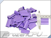"Mod/Smart Perfect Cut Heatshrink 1/2"" x 25mm - 50 Pack - Purple (HS-1/2-P-25mm)"