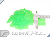 "Mod/Smart Perfect Cut Heatshrink 1/2"" x 25mm - 50 Pack - UV Green (HS-1/2-UR-25mm)"