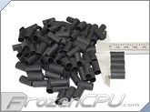 "Mod/Smart Perfect Cut Heatshrink 1/4"" x 15mm - 125 Pack - Black (HS-1/4-BK-15mm)"