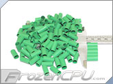 "Mod/Smart Perfect Cut Heatshrink 1/4"" x 15mm - 125 Pack - Green (HS-1/4-G-15mm)"