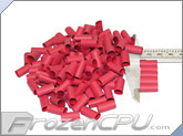 "Mod/Smart Perfect Cut Heatshrink 1/4"" x 15mm - 125 Pack - Red (HS-1/4-R-15mm)"