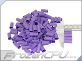 "Mod/Smart Perfect Cut Heatshrink 1/4"" x 15mm - 125 Pack - Purple (HS-1/4-P-15mm)"