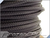 "Mod/Smart Kobra High Density Cable Sleeving 1/2"" - Charcoal Silver"
