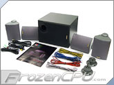 Amadeus 4.1 Home Theater Surround Speaker System - Black (SP8000BK)