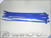"7"" Blue Tie Wraps (10 Pack)"