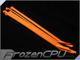 "7"" Orange UV Reactive Tie Wraps (10 Pack)"