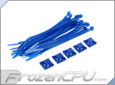 "Mod/Smart Tie Wrap Kit - 11"" - UV Blue (TW-11KIT-UB)"