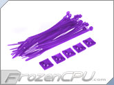 "Mod/Smart Tie Wrap Kit - 4"" - UV Purple (TW-4KIT-UP)"
