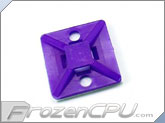 "Mod/Smart Zip Tie Cradle Mount - 1"" - UV Purple"