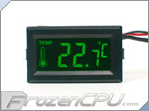 Thermal-Star Illuminated Thermometer - Green Light (TM03G)
